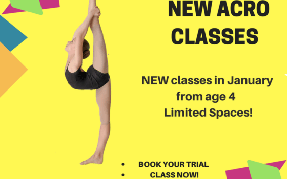 NEW Acro Classes