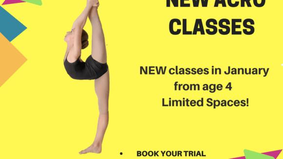 NEW Acro Classes