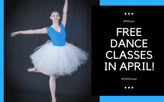 Free Dance Classes in April!