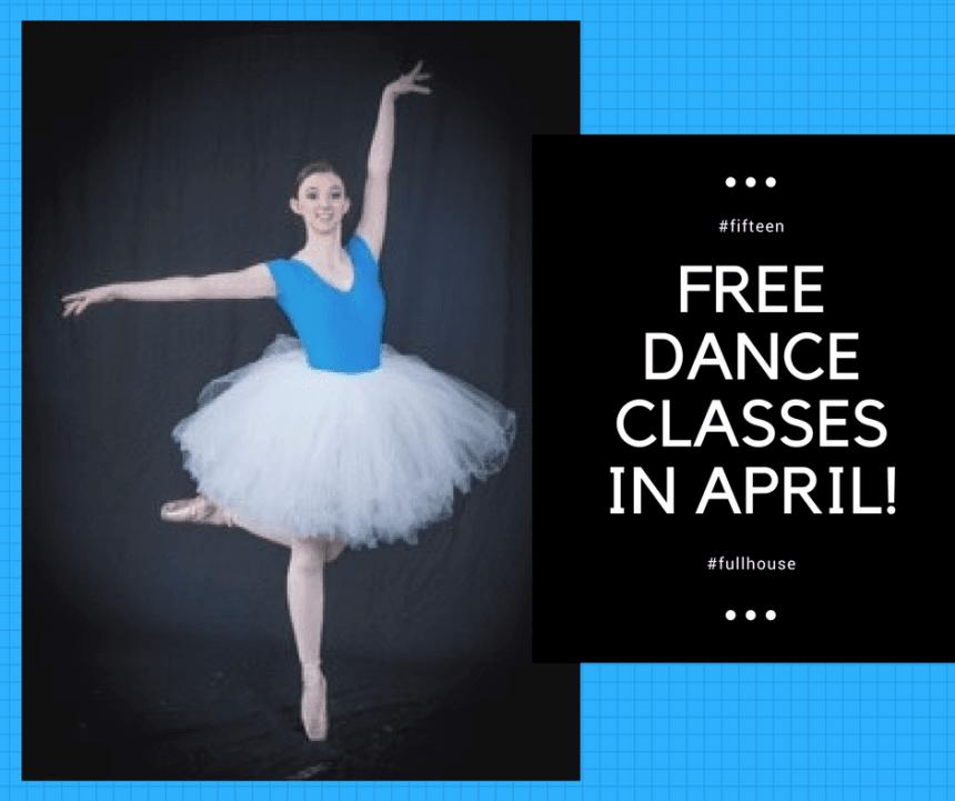 Free Dance Classes in April!