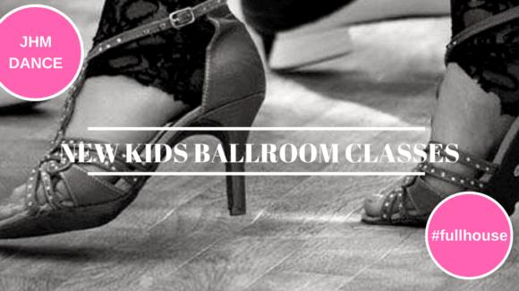 NEW Kids Ballroom Class.