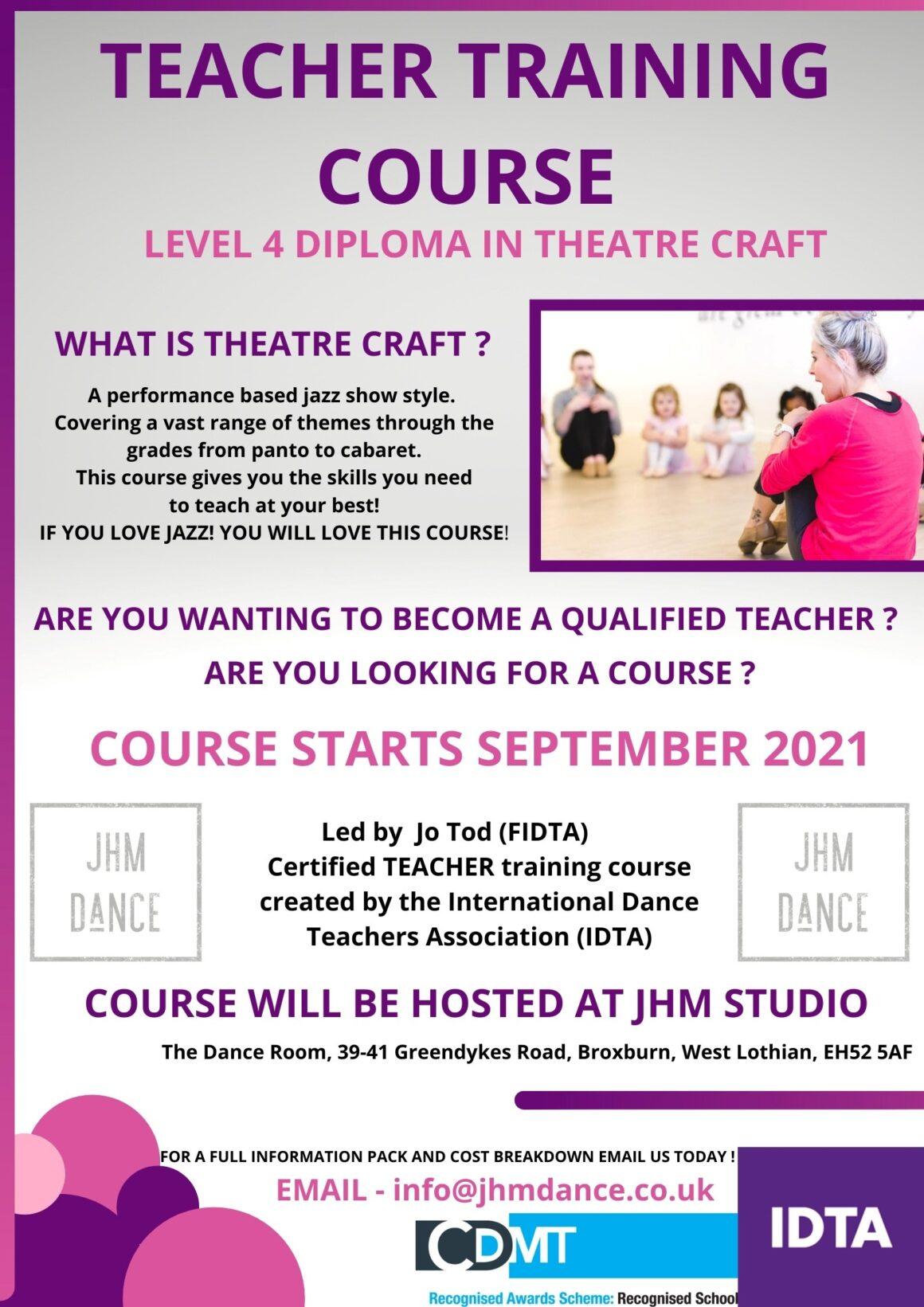 IDTA Level 4 Diploma Teacher Training
